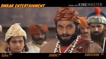 maharaj - OMKAR ENTERTAINMENT Made with KINEMASTER MDG Like SHARE SUBSCRIBE - ShareChat