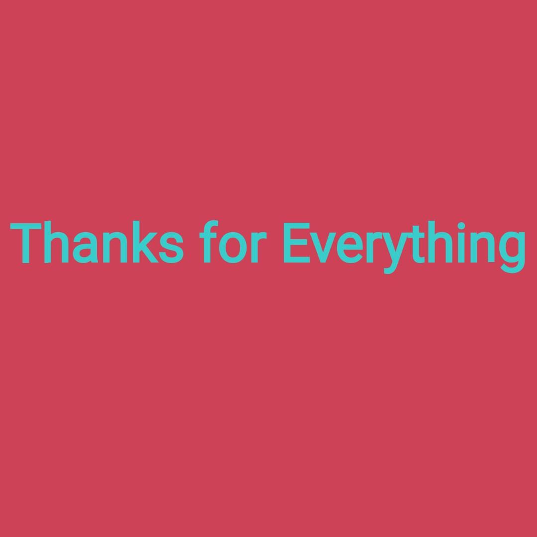 நட்பு  friends - Thanks for Everything - ShareChat