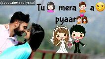 video status - @ youtube / aeo lyrical meri tere jaan naam f Shivam yadav @ youtube / aeo lyrical win Tu merama pyaar - ShareChat