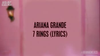 english song - AGMIX Wearing a ring , but ain ' t gon ' be no Mrs . Buy matching diamonds for six of my bitches I ' d rather spoil all my friends with my riches ESARIANAGMEXICO AFMX ARIANA GRANDE 7 RINGS ( LYRICS ) - ShareChat
