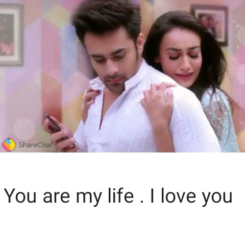 love - ShareChat You are my life . I love you - ShareChat
