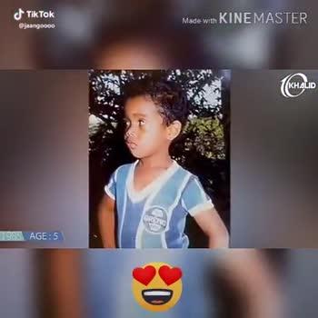 ⚽ கால்பந்து - Made with KINEMASTER KHALID 1998 AGE : 18 @ jaangoooo Made with KINEMASTER KHALID 2016 AGE : 36 @ jaangoooo - ShareChat
