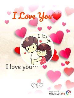 വീഡിയോ സ്റ്റാറ്റസ് - I Love You I lov yo I love you . . . R♡ made with WhatsCut Pro - ShareChat