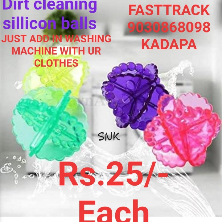matching clothes - Dirt cleaning sillicon balls JUST ADD IN WASHING MACHINE WITH UR CLOTHES FASTTRACK 9080R68098 KADAPA SNK - - Rs . 254 Each - ShareChat