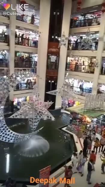 Eid Selfie 🤳 - @ Cutepari - 786 Deepak Mall LIKE APP Magic Video Maker & Community Deepak Mall - ShareChat