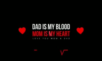annaiyar dhinam - DAD IS MY BLOOD MOM IS MY HEART DAD IS MY BLOOD MOM IS MY HEART LOVE YOU MOM & DAD - ShareChat