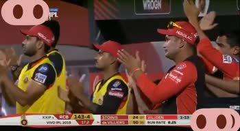 🔴 RCB vs KXIP 💗 - KXIP PRCB 149 - 4 138 . 5 KM / H 17 . 3 STOINIS STOINSX247 24 27 AB de VILLIERS 33rd IPL FIFTY SPILVERS O ) IPL KXIP RCB 15 - 4 VIVO IPL 2019 18 . 3 STOINIS de VILLIERS 26 30 SHAMI 1 - 41 53 39 FOURS 13 SIXES 7 O ) - ShareChat