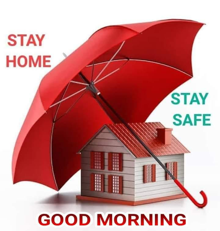 ☀️गुड मॉर्निंग☀️ - STAY HOME STAY SAFE CERERE GOOD MORNING - ShareChat