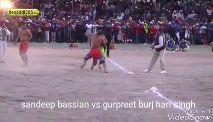 🤼♂️  ਕੱਬਡੀ - Kabaddi365 sandeep bassian vs gurpreet burj hari singh VideoShow - ShareChat