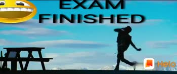 10 ஆம் வகுப்பு பொதுத் தேர்வு - EXAM FINISHED EXAM FINISHED VIV - ShareChat