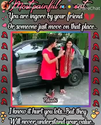 👬 பிரெண்ட்ஷிப் ஸ்டேட்டஸ் - போஸ்ட் செய்தவர் ? @ kohila _ karthiyakini Posted On eShareChat who painfubaa chat You are ingore by your friend Or someone just move on that place . gaa aa aa Soo I know it hurt you lots . . But they go 8 Will never understand your value . ShareChat Pinky kohila _ karthiyakini Enna Solven idhayattidham Unna Dhin . . Follow - ShareChat