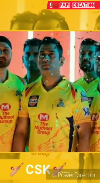 📹IPL ଭିଡ଼ିଓ - J PAPI CREATION PAPI CREATIO Gulf by Power Director J PAPI CREATION Gult The Muthoot Group by Power Director - ShareChat
