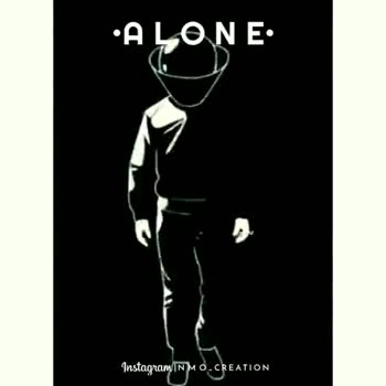 alone😐 - •ALONE ļ Instagram MO - CREATION •ALONE Instagram the mom creation - ShareChat