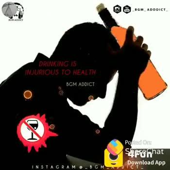 🤣காமெடி ஸ்டேட்டஸ் - BGM _ ADDDICT DRINKING IS INJURIOUS TO HEALTH BGM ADDICT 4Fun Download App DICT INSTAGRAM - BOM . ShareChat Vinod 2800 veenothbeat28 ஐ லவ் ஷேர்சட் ஷேர்சட் இஸ் ஆசாம் Follow DO - ShareChat