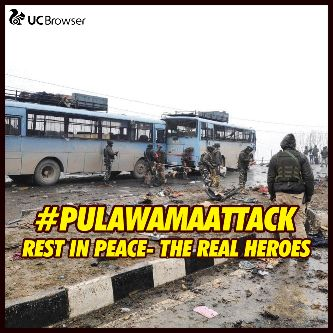 indian army - 6 . UC Browser # PULAWAMAATTACK - ShareChat