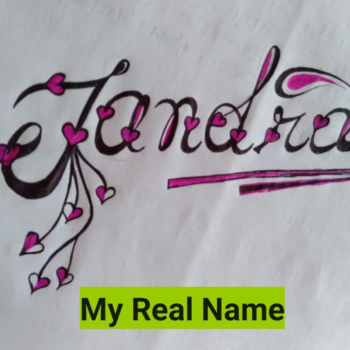word art - Jandir Beber . peal Name My Real Name - ShareChat