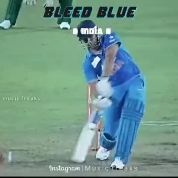 🧑  தல தோனி - BLEED BLUE INDIA Instagram   Music freaks BLEED BLUE INDIA musicaks Instagram   Music freaks - ShareChat