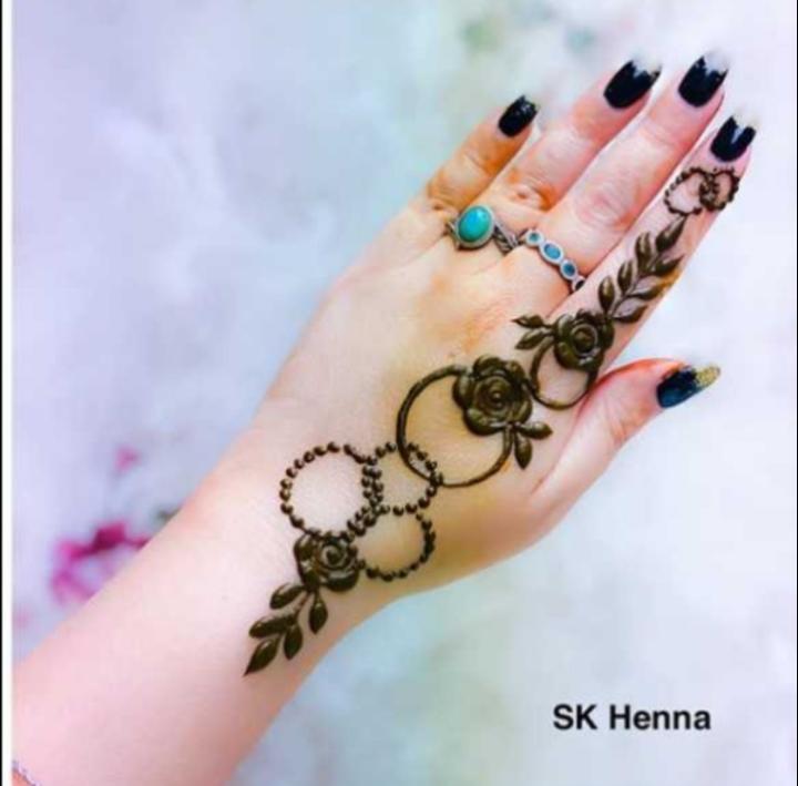 ✋ മൈലാഞ്ചി ഡിസൈന് - SK Henna - ShareChat