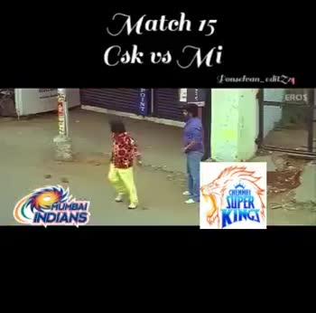 🏏 CSK vs KXIP - At ground Pongdean _ edit EROS HUNGA INDIANS At ground Josefran _ 22 EOS ( ROTANS - ShareChat