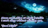 📱 ફુલ સ્ક્રિન વીડિયો સ્ટેટસ - Moon can ' t shine at night just like i cant sleep without wishing you . Good Night Peaceful Night - ShareChat