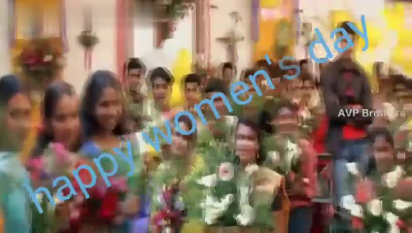 women's day special - Download from AVP Brothers happy womend Download from AVP Brothers kreno - ShareChat