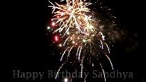 sanjuu - Happy Birthday Sandhya Happy Birthday Sandhya - ShareChat