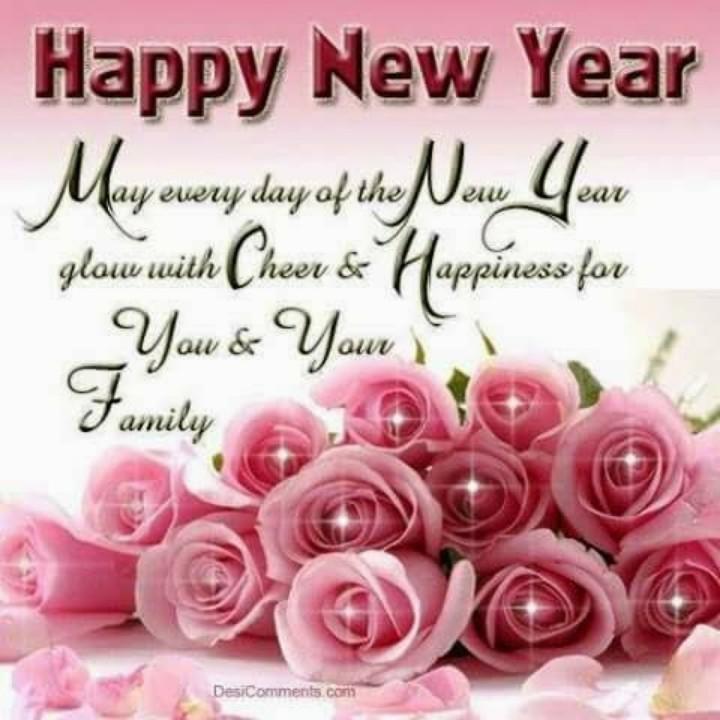 🎂 ન્યૂ યર Cake/ Sweets - Happy New Year May every day of the New Year glow with Cheer & Happiness for You & Your Family DesiComments . com - ShareChat