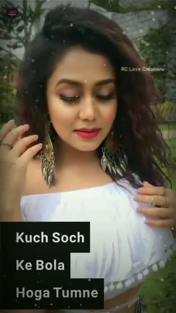 Neha Kakkar Isme Tera Ghata By Ft Neha Kakar Video Aℓiѕna Sharechat Funny Romantic Videos Shayari Quotes