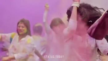 🎨మీకు నచ్చిన రంగు - STATUS . TODAY HAPPY HOLI STATUS . TODAY - ShareChat