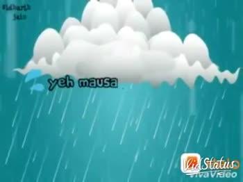 Happy Rain Day - ( Rain vseo Sidharth boaching on ho dinsj M Vid Status Tavsido - ShareChat