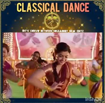 💃 நடனம் - CLASSICAL DANCE IT ' S CONVO BETWEEN SOUL & BODY NKⓇEDITZ Inshop AAAAAAAAAAAAAAAAAAAAAAAA 3ONVO TVOISSVIO IT ' S CONVORETWEEN SOUL NK InShare - ShareChat
