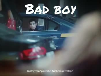 💕 காதல் ஸ்டேட்டஸ் - BAD BOY BGM Instagram / youtube - Nicholas creation BAD BOY ВСМ . Instagram / youtube - Nicholas creation - ShareChat
