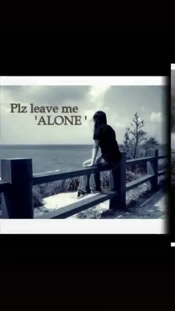alone - | viss You - ShareChat