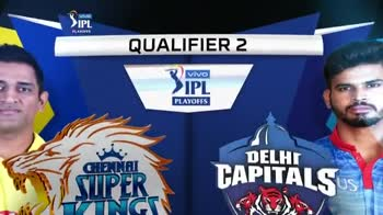 🏏CSK vs DC Qualifier-2🔥 - vivo > IPL PLATOFFS 1 - 22 33 CSK V DC 124 . 8 KM / H 125 - 7 18 . 3 PANT MISHRA 38 24 D CHAHAR 0 1 2 2 2 Vivo 2ІРІ PLAYOFFS CHENNAI SUPER KINGS BEAT DELHI CAPITALS BY 5 WICKETS VIVO IPL 2019 - ShareChat