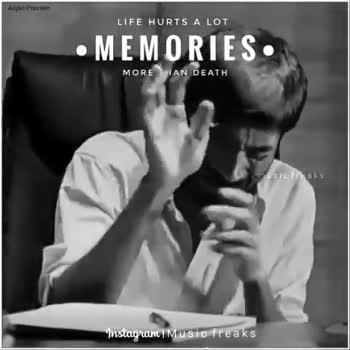 👨 ஆண்களின் பெருமை - Anjan Praveen LIFE HURTS A LOT • MEMORIES MORE THAN DEATH sicfreaks Instagram Music freaks LIFE HURTS A LOT • MEMORIES MORE THAN DEATH musicfreaks Instagram   Music freaks - ShareChat