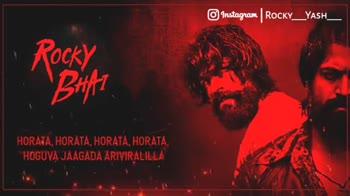 KGF Chapter 2 - © Instagram | ROCKY _ YASH _ _ GANGSTARALLA MONSTER HESRU ROCKING STAR - LE Instagram | RockY _ YASH _ I ROCKY - BHAI ! - ShareChat