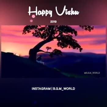 വിഷു ആശംസകള് - Happy Uislaw 2019 GB . G . M _ WORLD INSTAGRAM | B . G . M _ WORLD Happy Vishu 2019 Am Cravanlab INSTAGRAM | B . G . M _ WORLD - ShareChat
