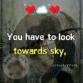 💖my feelings💖 - You have to look towards sky , SARC WWSA ©AW WSARCASM ALI NAWAZ OFFICIAL - ShareChat