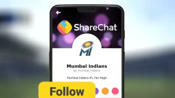🔵 MI vs KKR 💜 5 મે - MATCH PREVIEW Without a complete team effort coupled with magnificent individual performances during our home leg . . . . - ShareChat