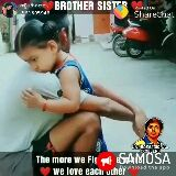 brother and sister - 2 3 . 33 % BROTHER SISTT Posted on Sharechat @ 61605948 ១ UNPROFESSIONAL TROLLERS The more we FISAMOSA we love each ucher wnioad the app T : 0535836 : BROTHER SISTER Posted on @ 61605948 Sharechat UNE ROFESSIONAL TROLLERS The more we FISAMOSA we love each ucherwnload the app - ShareChat