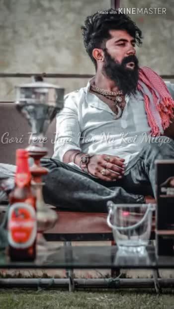 📹30 సెకండ్స్ వీడియోస్ - Made with KINEMASTER Menu Dar Nai Ke Merey Wala Manu Chhaddju Made with KINEMASTER Mai Gal Paunaa Sidhaa Chudey Waala Haar Vey Edit By Ranveer singh Rathore - ShareChat