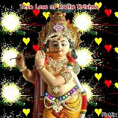 GIFS - True Love of Radhe Krishna Cro PicMix - ShareChat