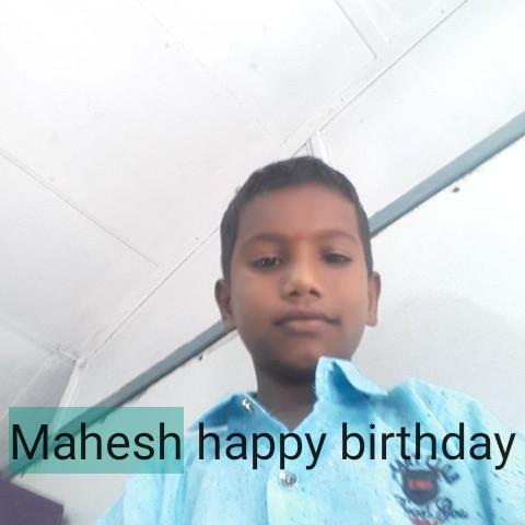 happy birthday mahaa - Mahesh happy birthday - ShareChat