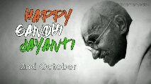 mahatma gandhi jayanthi - @ theamanyadav HAPPY GANDHI - ShareChat
