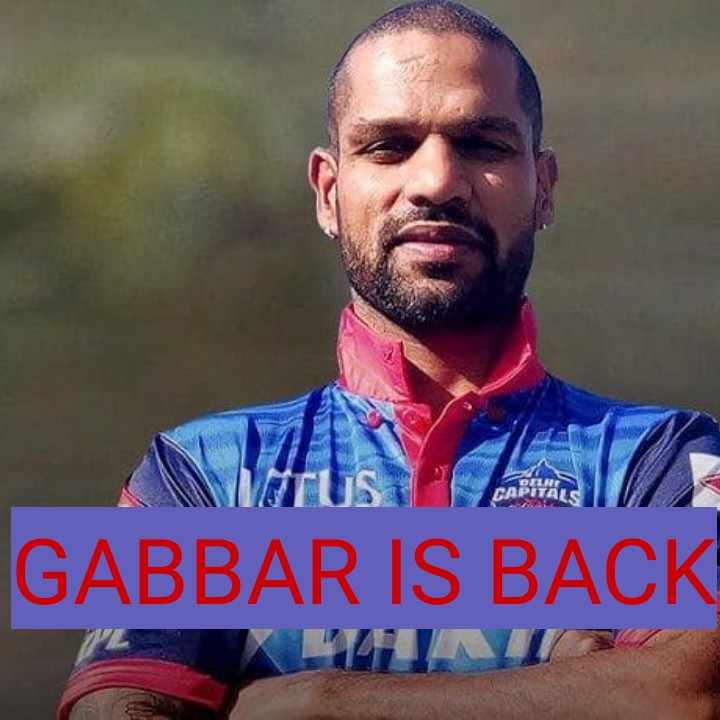 KKR vs DC - GABBAR IS BACK IN - ShareChat