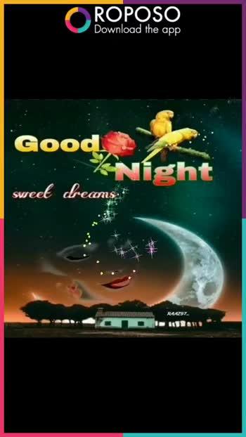 🌙  ਗੁੱਡ ਨਾਇਟ - ROPOSO Download the app Good Night Swee . Dreams ROPOSO India ' s no . 1 video app Download now : Apoorva Arora - @ apoorvaarora - ShareChat