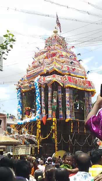 நெல்லையப்பர் கோவில் ஆனித்தேரோட்டம் - ShareChat