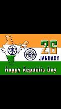 🇮🇳 प्रजासत्ताक व्हिडिओ स्टेटस - 26 January Happy Republic Day ভৰি জাভা জিকে ) ঞ্জা চিলি । চণll / Arathe V VIDMATE - ShareChat