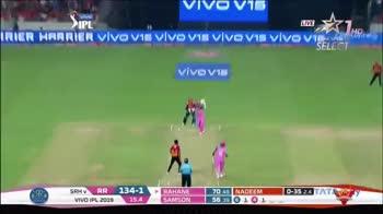 🏏సన్ రైజర్స్ బోణీ - STAR SPORTS SELECT 0 - 35 24 TATA SRH V RR VIVO IPL 2019 134 - 1 15 . 4 RAHANE SAMSON 70 48 NADEEM 56 39 61 1 To follow Cricket on Duta : Add to your group : + 17063735275 - ShareChat