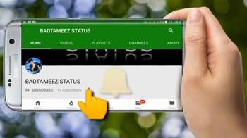 💓 પ્રેમ વિડિઓ - YouTube SUBSCRIBE BADTAMEEZ STATUS You Tube BADTAMEEZ STATUS PROMISE KOM - ShareChat
